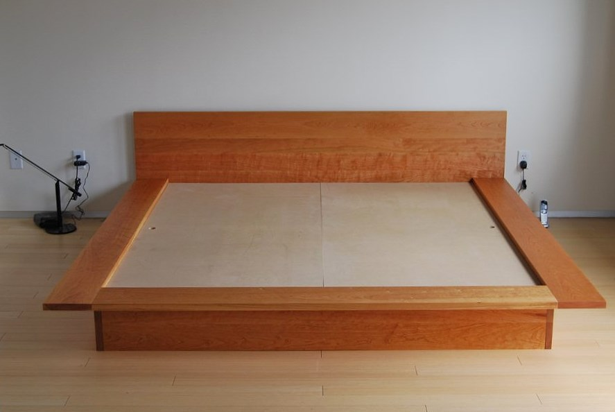 "Cherry ""Lo Modern"" King Bed 