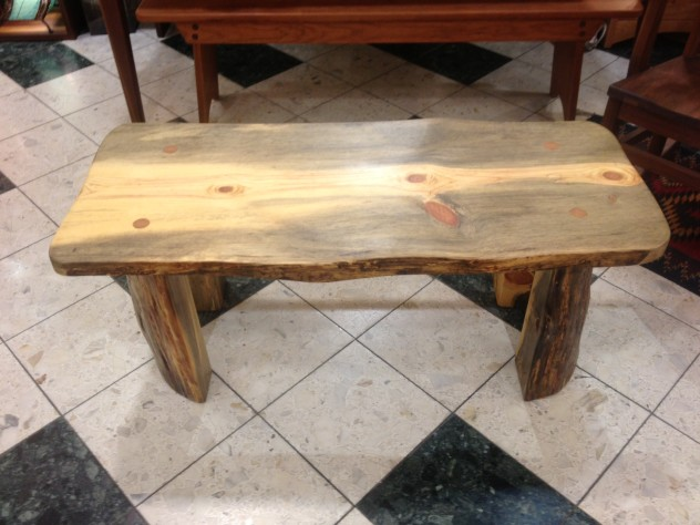 LiveEdge Beetlekill Coffee Table