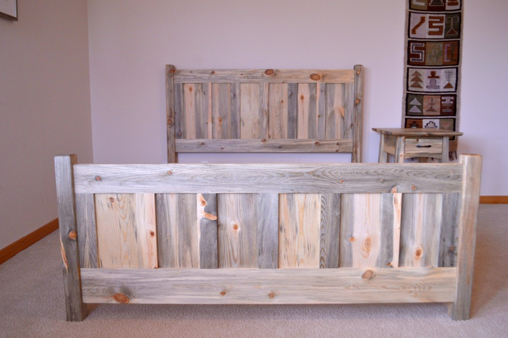 "Beetlekill ""Craftsman"" Queen Bed"