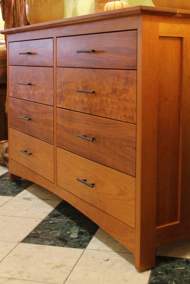 "Cherry ""Prairie"" 8-Drawer Dresser"