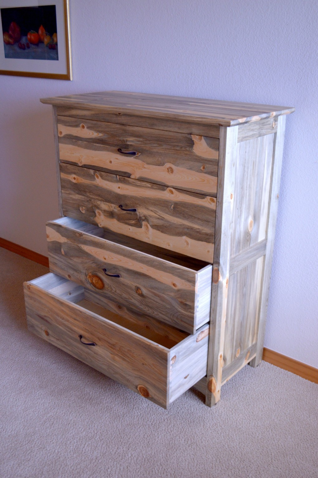 "Beetlekill ""Prairie"" 4-Drawer Dresser"