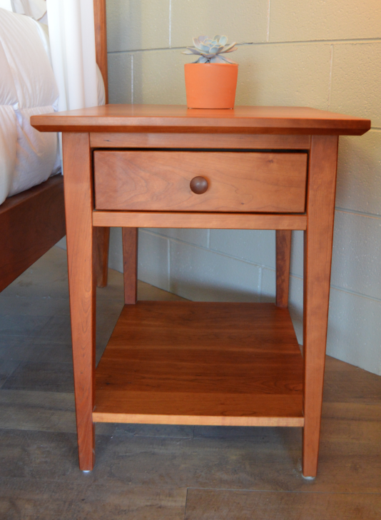 "Cherry ""Prairie"" Nightstand"