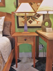 "Cherry ""Prairie"" End Table"