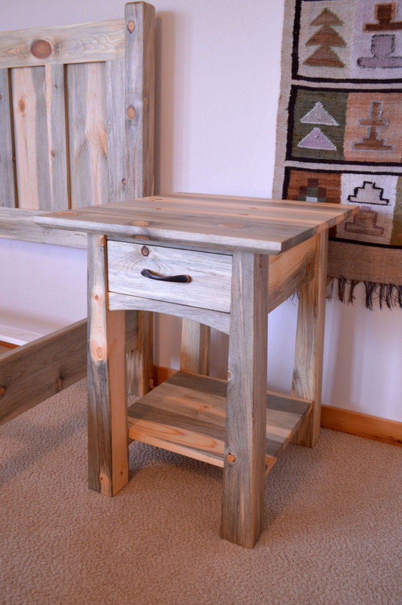 "Beetlekill ""Colorado"" Nightstand"