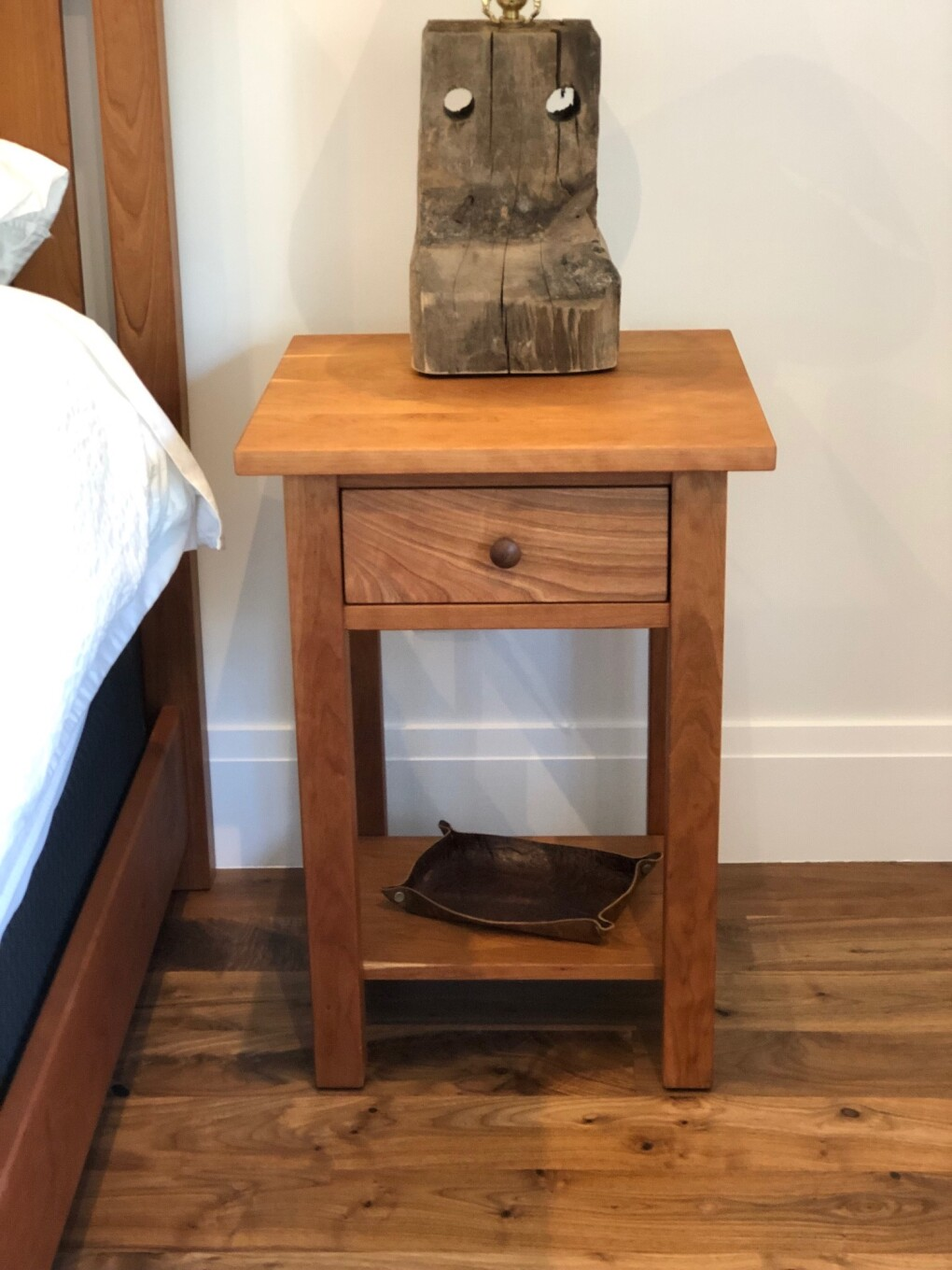 "Cherry ""Mission"" Nightstand"
