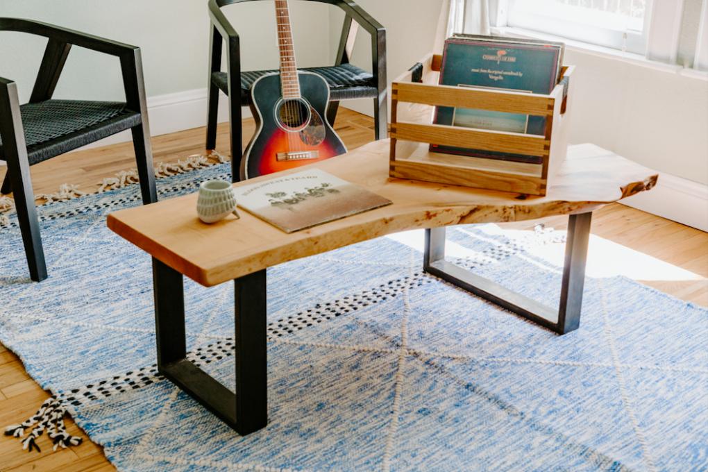 "Solid Maple ""Flatiron"" LiveEdge Coffee Table"