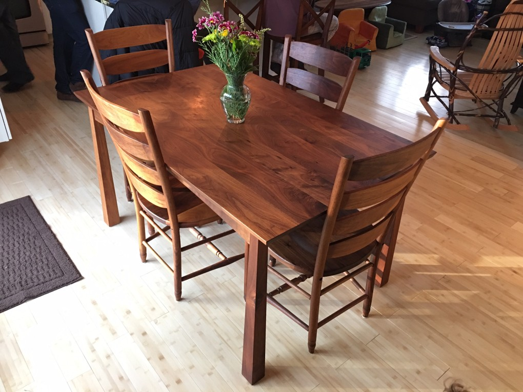 "Solid Walnut ""Colorado"" Table"