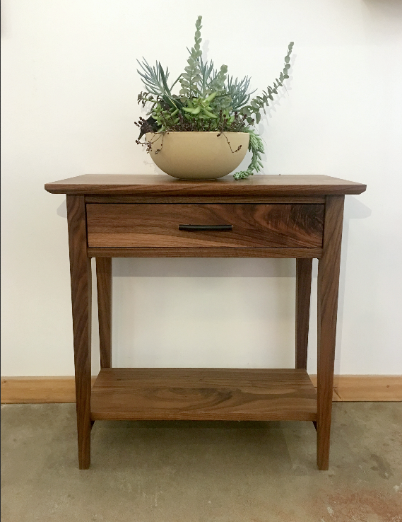 "Walnut ""Prairie"" Entry Console"