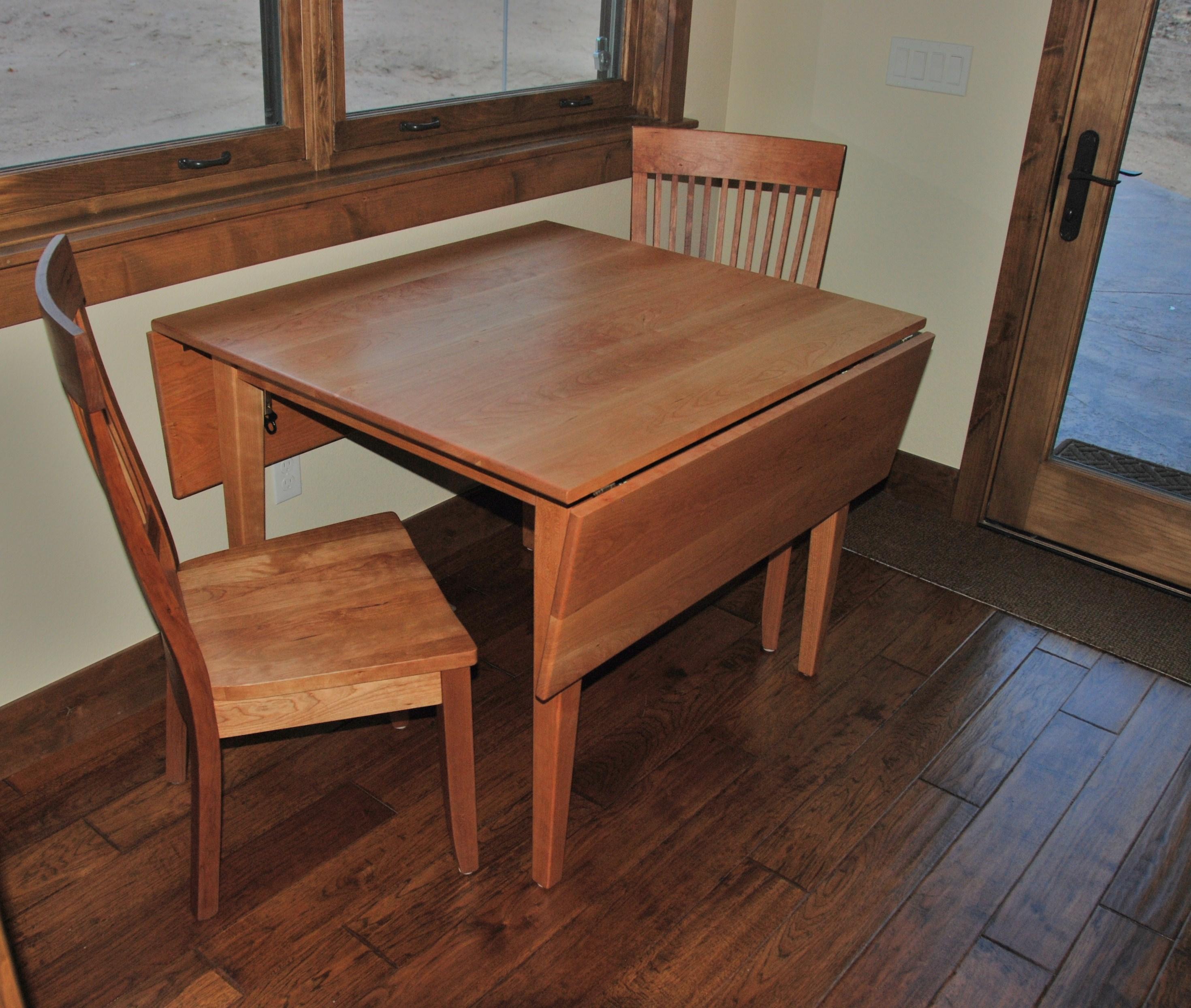 sold oak stickley drop chairside craftsman vintage signed table end shop leaf