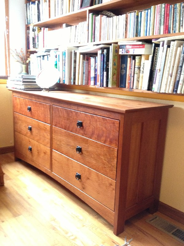 "Cherry ""Prairie"" 6-Drawer Dresser"