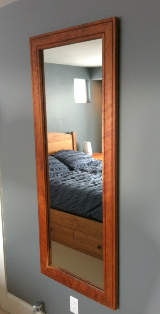 "Cherry ""Prairie"" Mirror (60""l x 24""w) available in any size"