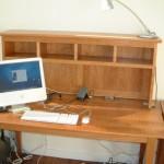 Solid Cherry Desktop Organizer