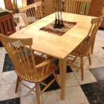 "Solid Maple ""Combback"" Chair Set"