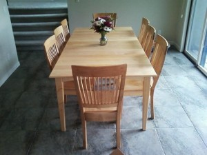 "Solid Maple ""Whittier"" Chairs"