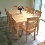 """Solid Maple """"Prairie"""" Dining Table"""