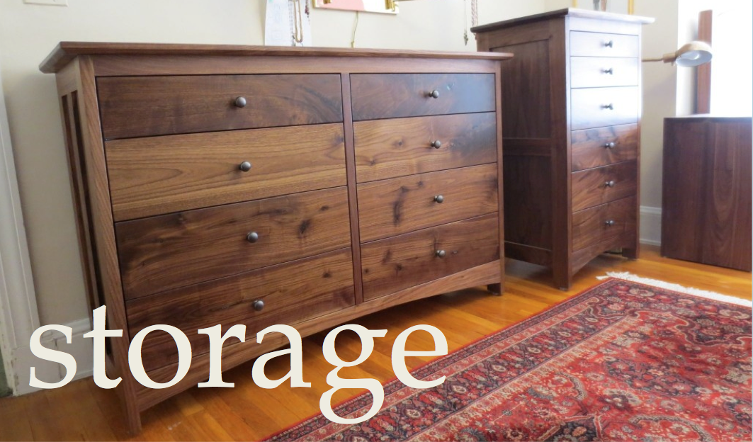 Bedroom Storage Gallery