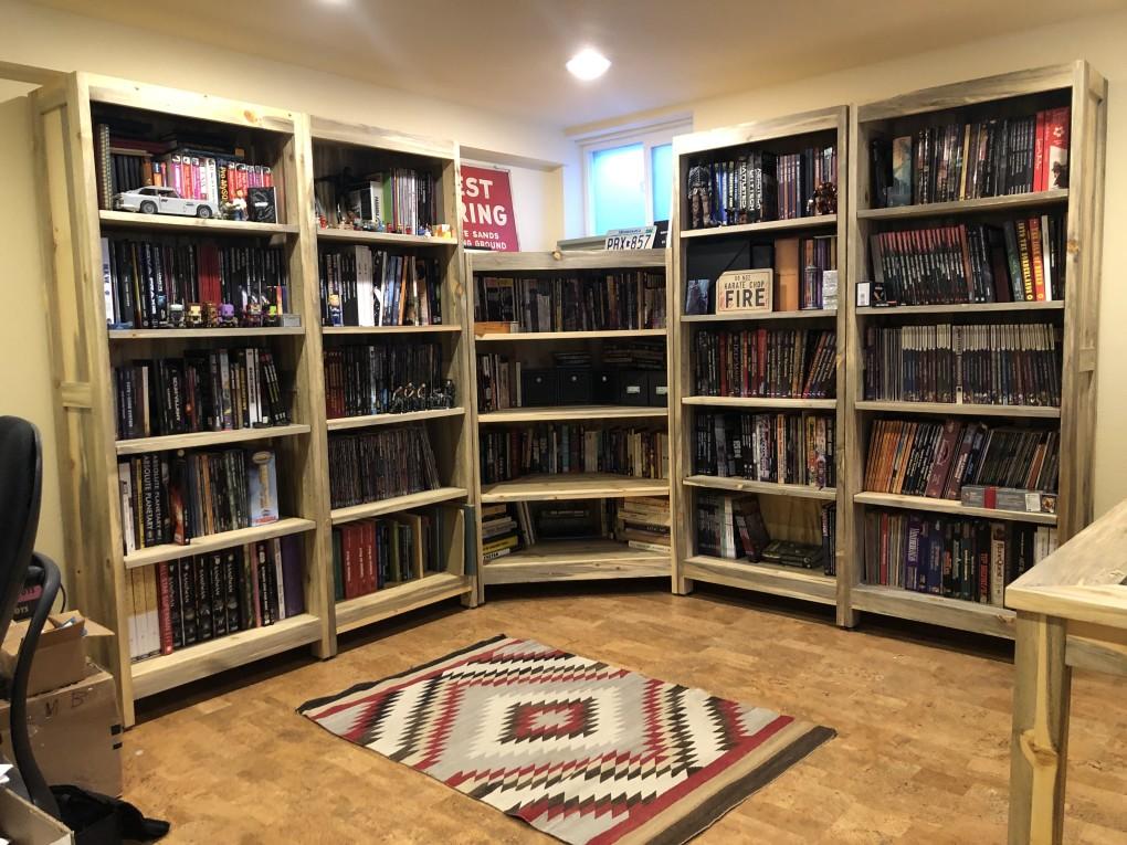 "Beetlekill ""Flatiron"" Bookcase Set"