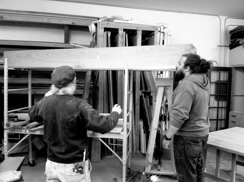 Building Lee Robbie Workshop 3