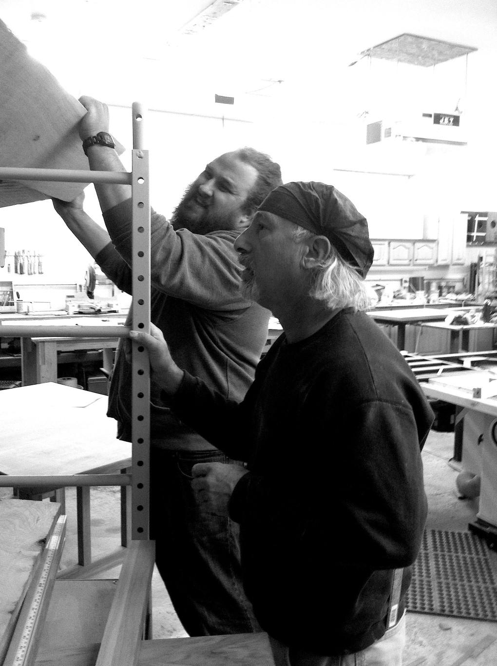 Building Lee Robbie Workshop 4 copy
