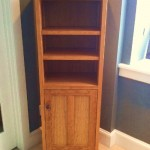 """Solid Cherry Tall """"Prairie"""" Cabinet"""