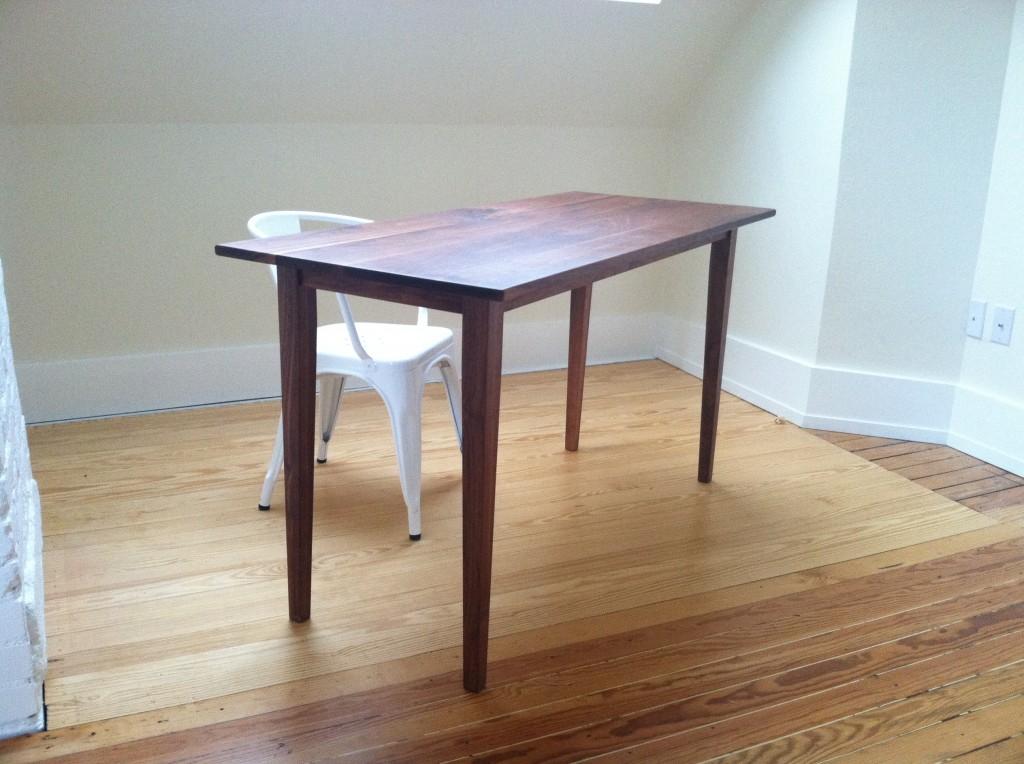 "Solid Walnut ""Shaker"" Writing Desk"