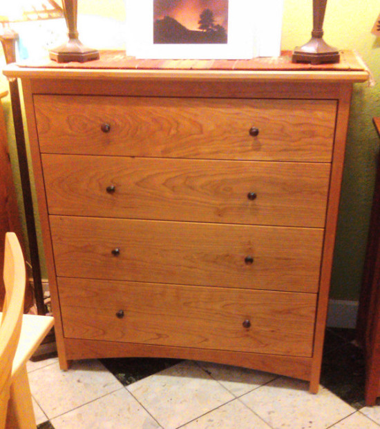 "Cherry ""Prairie"" 4-Drawer Dresser"
