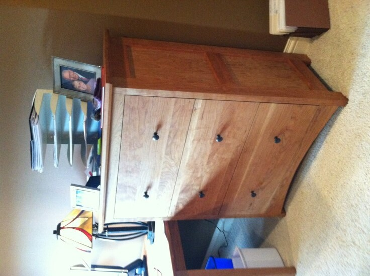 """Cherry """"Prairie"""" Lateral File Cabinet"""