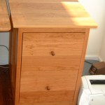 """Solid Cherry """"Prairie"""" File Cabinet"""