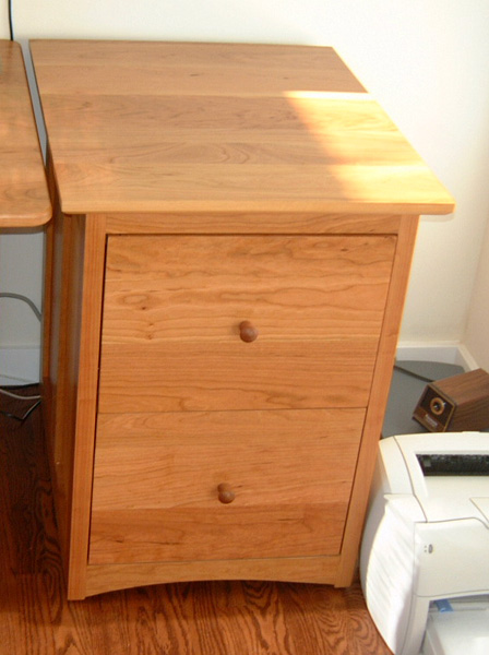 "Cherry ""Prairie"" 2-Drawer File Cabinet"