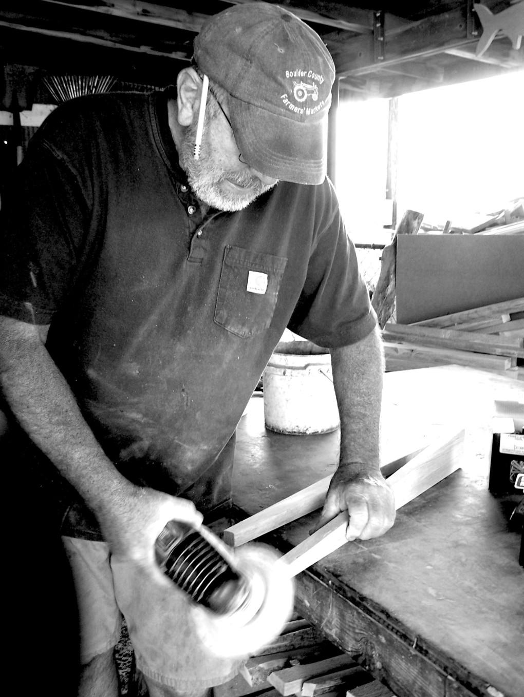 John, sanding forever