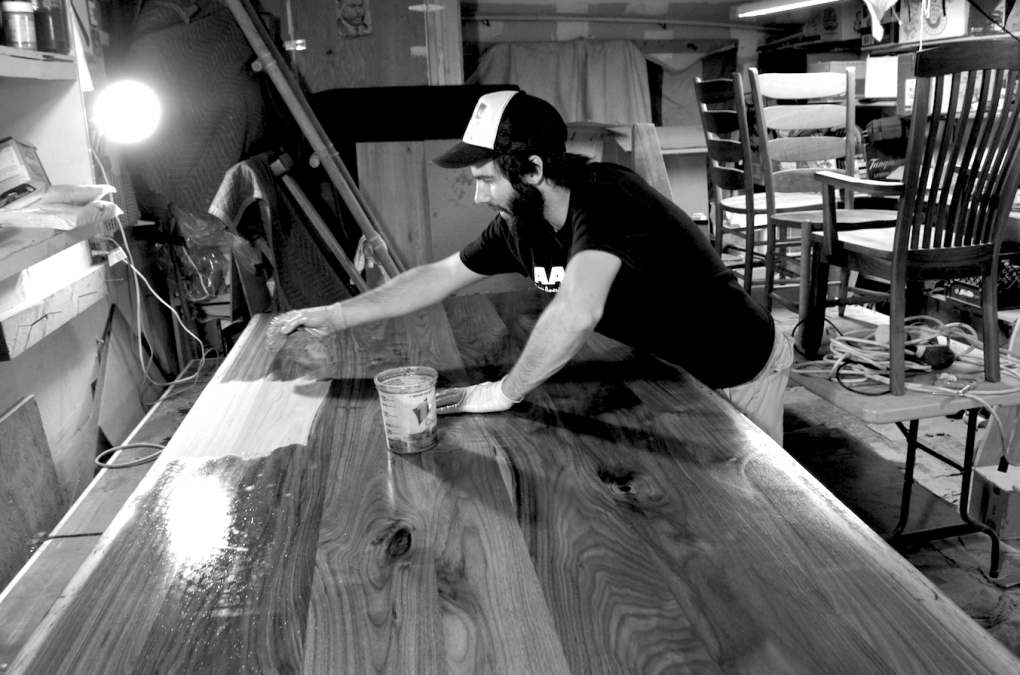 Zach Finishing Walnut