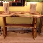 Solid Red Cedar Sofa Table