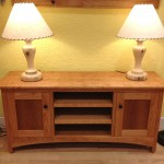 "Solid Cherry ""Williams"" Media Console"