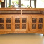 "Solid Cherry ""Prairie"" Media Console"