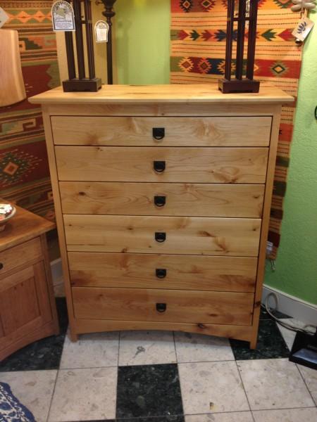 """Alder """"Prairie"""" 6-Drawer Dresser"""