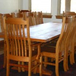"Solid Cherry ""Mission "" Dining Chairs"