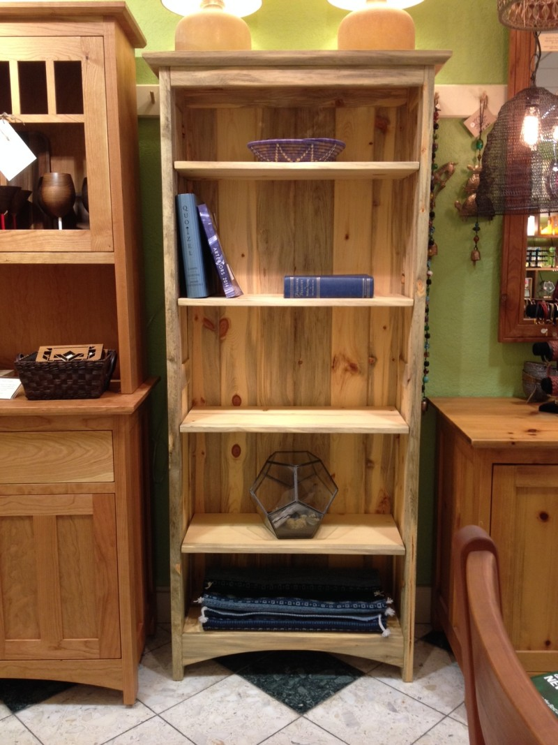 "Solid Beetlekill ""Prairie"" Bookcase"