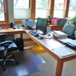 """Solid Cherry """"Flatiron"""" Desk"""