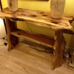Solid Red Cedar Sofa Table
