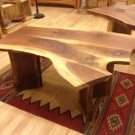"Solid Walnut ""Live Edge"" Coffee Table"