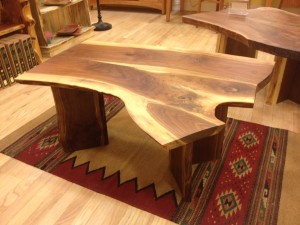 LiveEdge Walnut Coffee Table