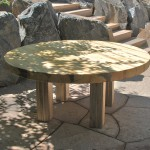 Beetlekill Blue Pine Outdoor Dining Table