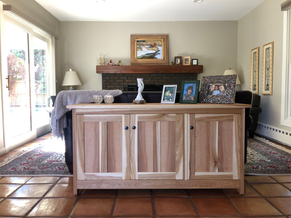"Hickory ""Prairie"" 4-Door Sideboard"