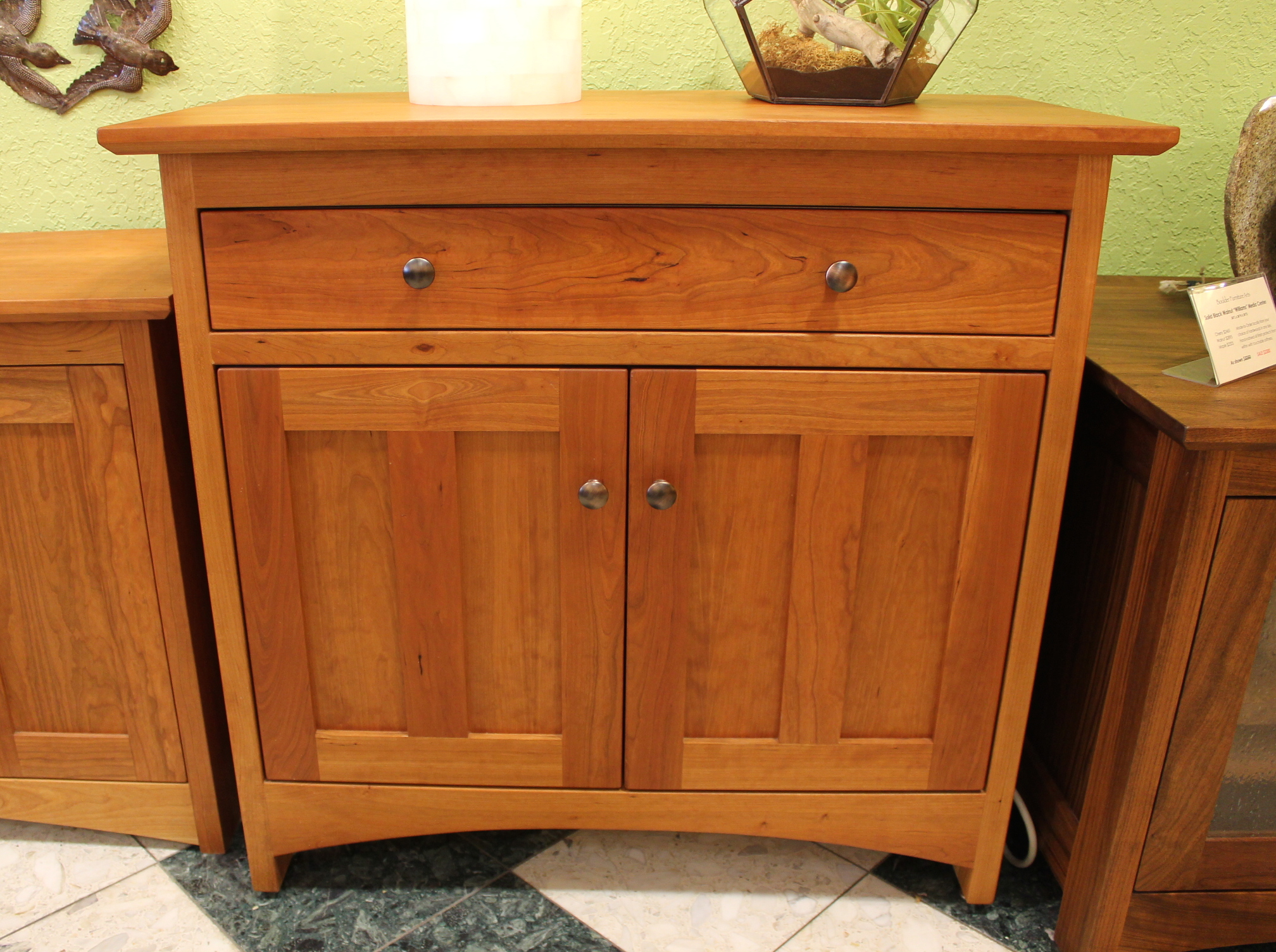 "Cherry ""Prairie"" Two-Door Sideboard"