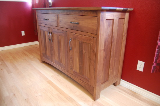 "Walnut ""Prairie"" Sideboard"