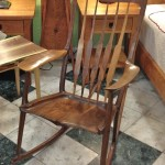 Solid Walnut Sam Maloof Rocker
