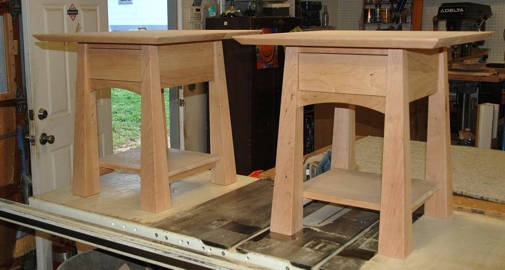 Custom Cherry Colorado Nightstands Unfinished Boulder Furniture Arts