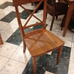 "Solid Cherry Amish-Made ""LaCroix"" Chair"