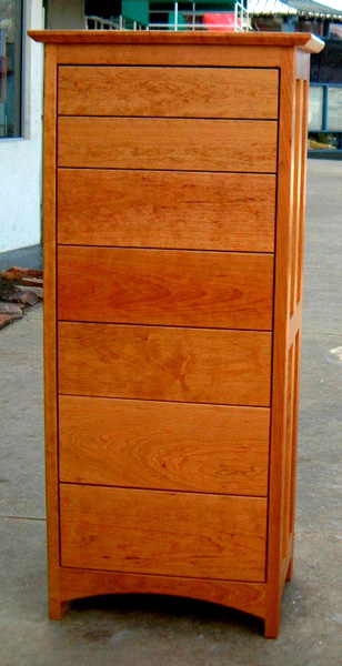 "Cherry ""Prairie"" 7-Drawer Dresser"