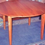 "Solid Cherry ""Shaker"" Round Tables"